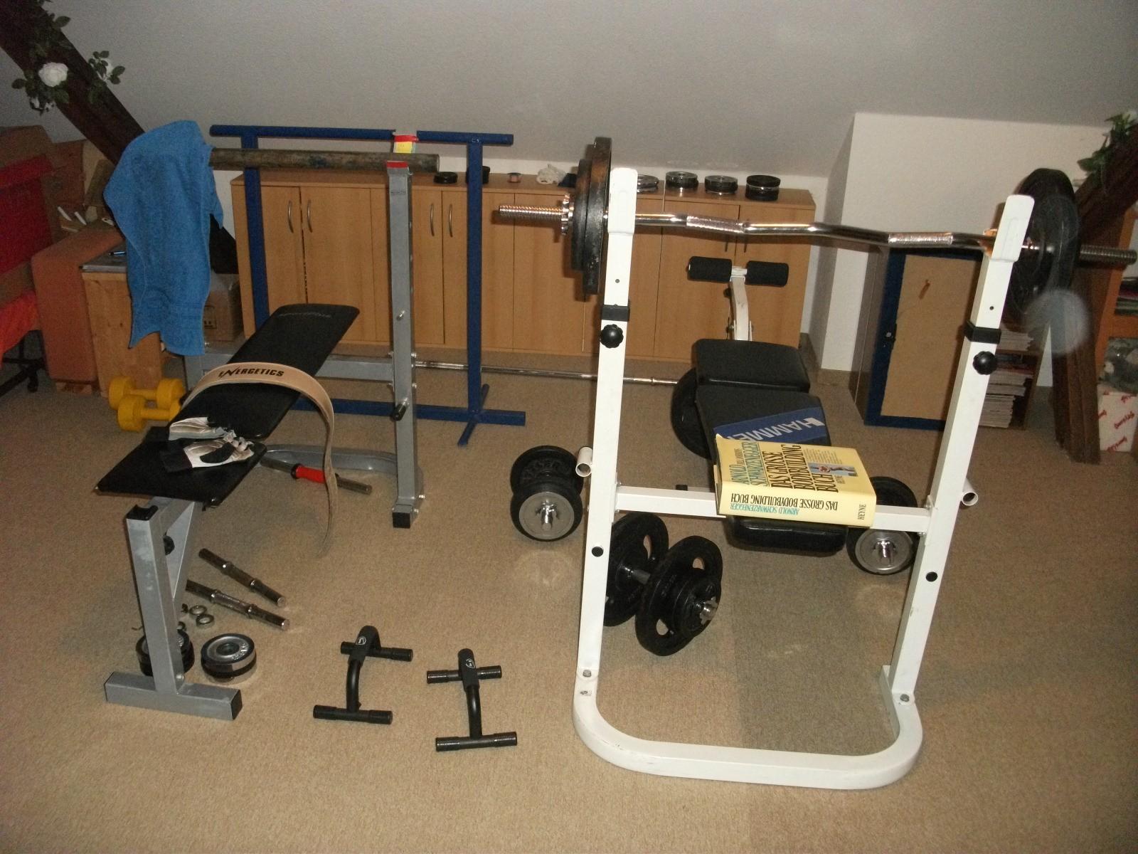 Hier Trainiert Deutschland Teil 1 Flavio Simonettide Jetz Iron Gym Dachboden Trainingsraum